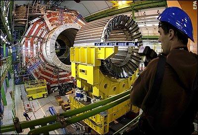 intérieur du LHC