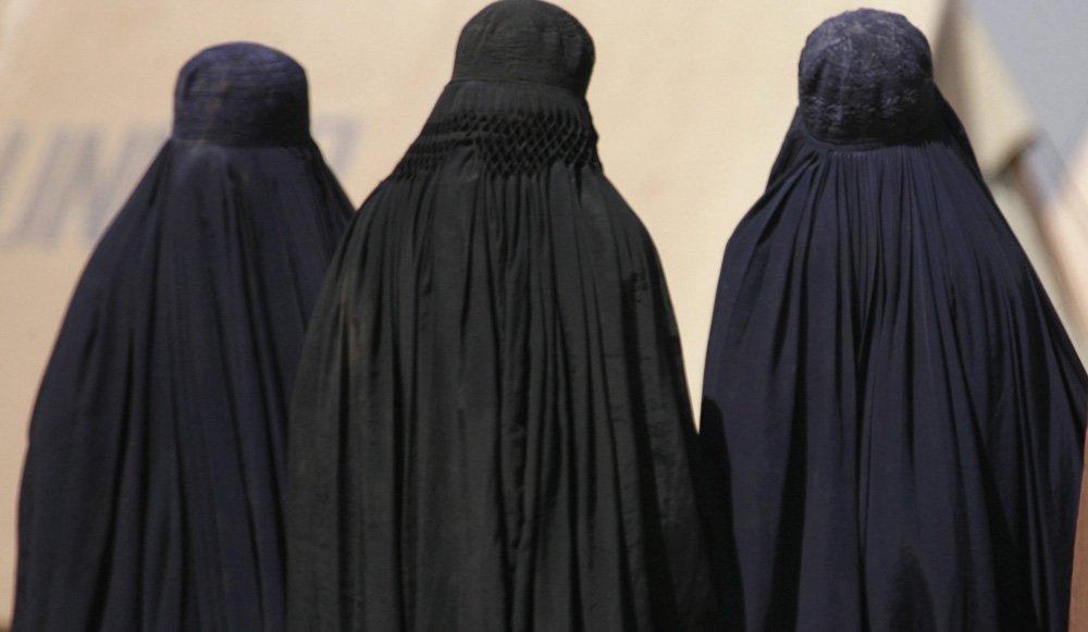 Femmes en Burqa