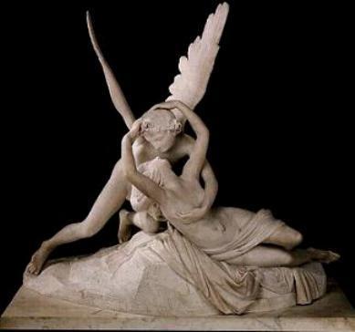 Antonio Canova - La Psyché et l'Amour 1793 - Le Louvre