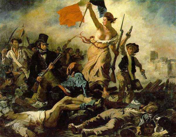 Delacroix - La Liberté guidant le Peuple - 1831