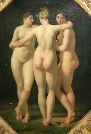 Les Trois Graces - Jean Baptiste Regnault - 1798