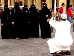 femmes en niqab