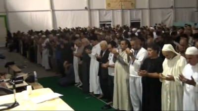 Conférence du Cheikh Benmansour à la Mosquée d'Aulnay-Sous-Bois :