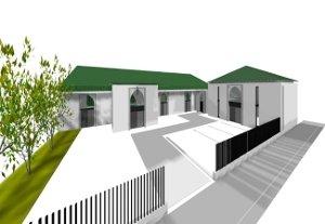 Mosquée Élancourt - projet1