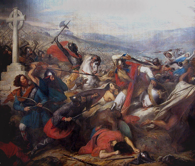 Charles Martel - Bataille de Poitiers - Charles de Steuben