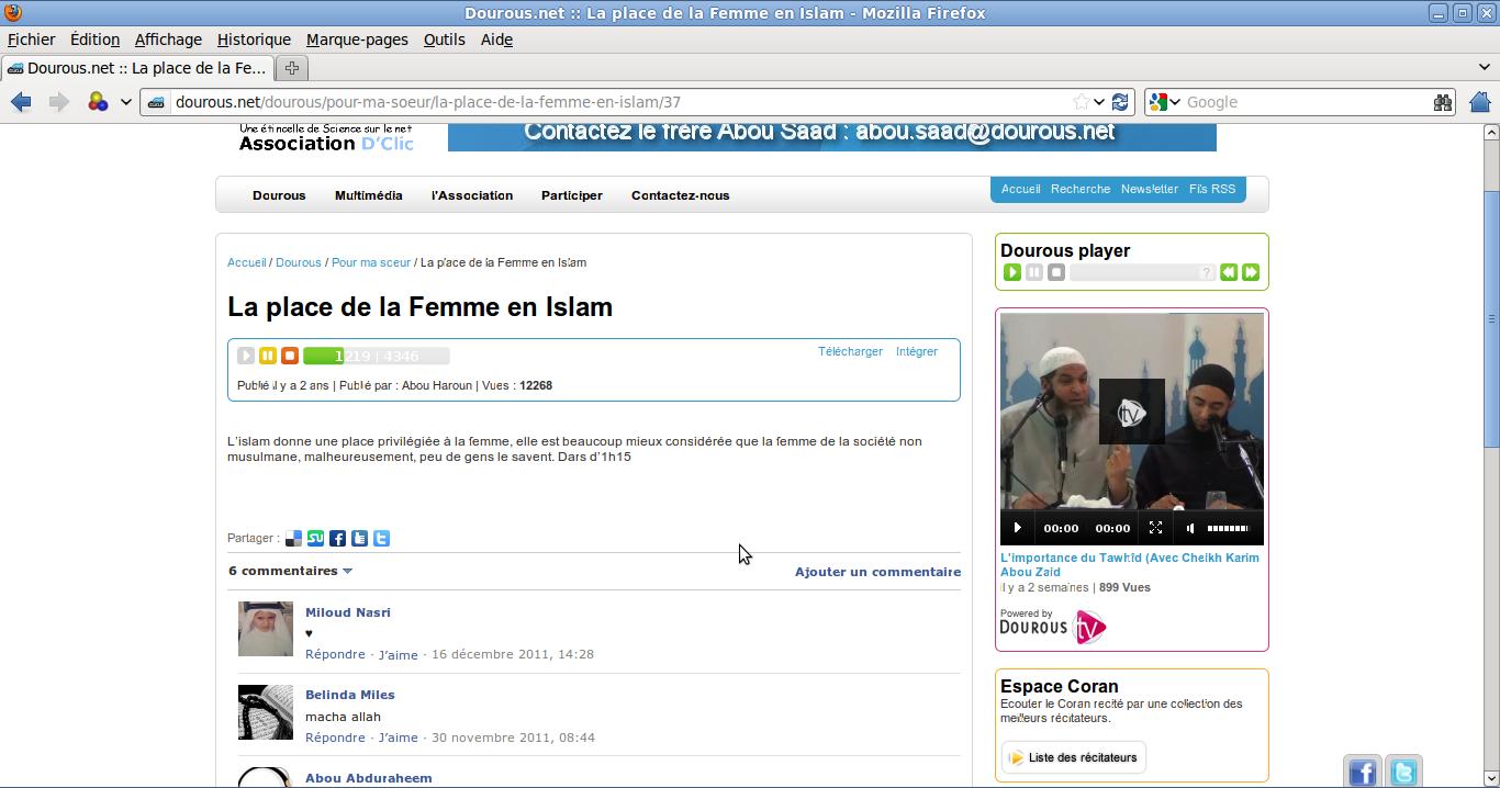 article islam femme